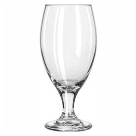Libbey Glass 3915 Beer Glass, 14.75 Oz., Teardrop Footed, 36 Pack by