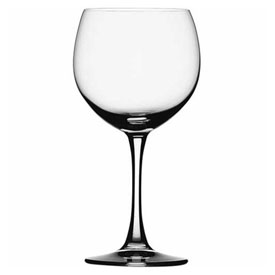Click here to buy Libbey Glass 4070000 Burgundy Wine Glass 17 Oz., Glassware, Artistry Collection, Soiree, 6 Pack.