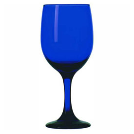 Libbey Glass 4111SRB/UPC00 Goblet 11.75 Oz., Premier Cobalt, 12 Pack by