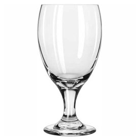 Libbey Glass 4116SR Tall Iced Tea Glass 16.25 Oz., Glassware, Charisma Sheer-Rim/D.T.E, 24 Pack by