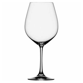 Libbey Glass 4560100 Burgundy Wine Glass 27.5 Oz., Artistry Collection, Beverly Hills, 6 Pack by