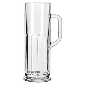 Libbey Glass 5001 Beer Glass, Mug 21 Oz., Frankfurt Clear, 12 Pack by