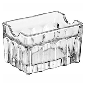 Libbey Glass 5258 Glass Sugar Packet Holder 3.5Cl, 24 Pack by