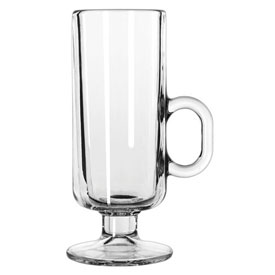 Libbey Glass 5292 Glass Irish Coffee Mug 8 Oz., Clear, 24 Pack by