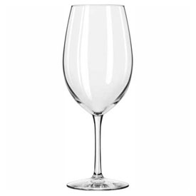 Click here to buy Libbey Glass 7520 Wine Glass 17 Oz., Glassware, Vina, 12 Pack.