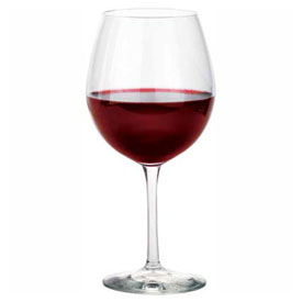 Click here to buy Libbey Glass 7522SR Balloon Glass 18 Oz., Glassware, Briossa, 12 Pack.