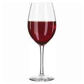 Click here to buy Libbey Glass 7553SR Wine Glass 17 Oz., Glassware, Briossa, 12 Pack.