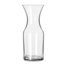 Libbey Glass 782 Glass Decanter 1/4 Liter, 12 Pack by