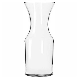 Click here to buy Libbey Glass 789 Wine Glass Decanter 17 Oz., 12 Pack.