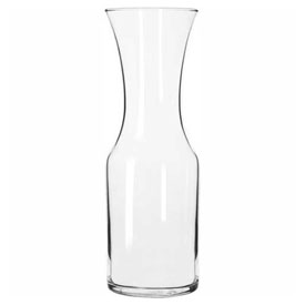 Click here to buy Libbey Glass 795 Wine Glass Decanter, 34 Oz., 12 Pack.