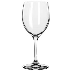 Libbey Glass 8565SR Wine Glass Bristol Valley 8.5 Oz., Clear, 24 Pack by