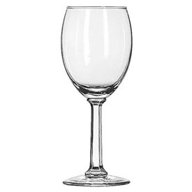 Libbey Glass 8764 Wine Glass 7.75 Oz., Napa Country White, 36 Pack by