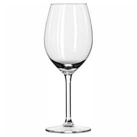 Click here to buy Libbey Glass 9103RL Wine Glass 11 Oz., Glassware, Allure, 12 Pack.