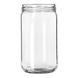 Libbey Glass 92105 Drinking Jar 24 Oz., Glassware, Infusion, 12 Pack by