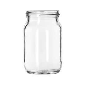 Libbey Glass 92144 Drinking Jar 4 Oz., Glassware, Infusion, 12 Pack by