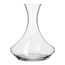 Libbey Glass 96958S1A Decanter Wine Gift Box 60 Oz., 2 Pack by