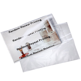 Clear Postal Approved Mailing Bags, 9X12, 1000 per Case, Clear