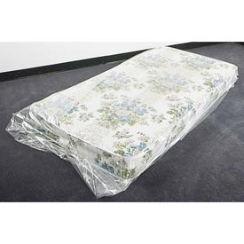 "Mattress Bags, Fits Twin Size, 39"" x 8"" x 90"" 1.5 Mil Clear, 100 per Roll"