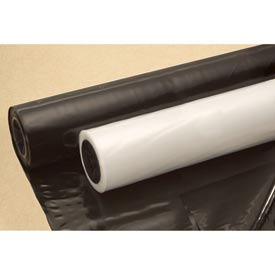 Construction & Agricultural Film, 8'W x 100'L 6 Mil Clear, 1 Roll