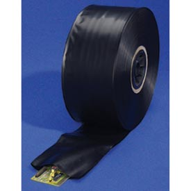 Black Conductive Tubing 4 mil, 12, 1 per Roll, Black