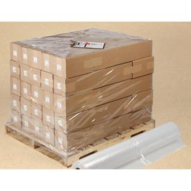 Clear Poly Sheeting / Pallet Top Sheets 1.5 mil, 36X36, 800 per Roll, Clear