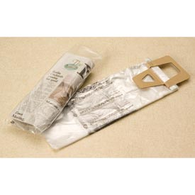 Clear High Density Newspaper Bags 0.4 mil, 5.5X16 +1.5 LIP, 2000 per Case, Clear