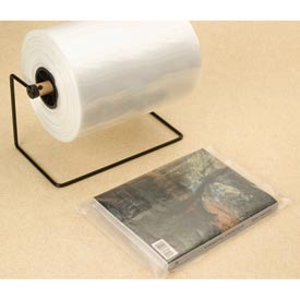 "Layflat Bags on a Roll, 10""W x 16""L 2 Mil Clear, 1000 per Roll"