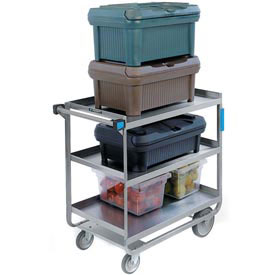 Lakeside® 522 NSF HD Stainless 3 Shelf Cart 32-5/8 x 19-3/8 x 35-1/2 700 Lb Cap