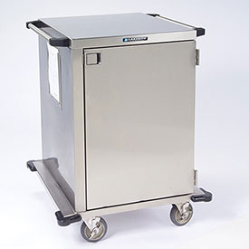 Lakeside® 6940 1 Door Stainless Steel Case Cart - 30 x 29 x 39