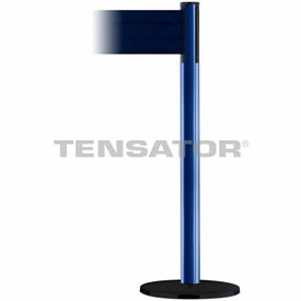 Tensabarrier Blue Plus Advance 7.5'L Dark Blue Retractable Belt Barrier