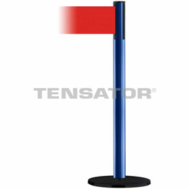 Tensabarrier Blue Plus Advance 7.5'L Red Retractable Belt Barrier