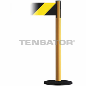 Tensabarrier Yellow Plus Advance 7.5'L Black/Yellow Chevron Retractable Belt Barrier