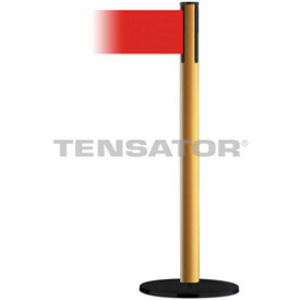 Tensabarrier Yellow Plus Advance 7.5'L Red  Retractable Belt Barrier