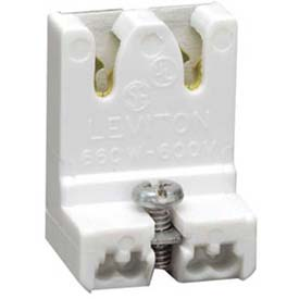 Leviton 13451-NX Medium Base, T8 Only Bi-Pin, Standard Fluorescent Lampholder