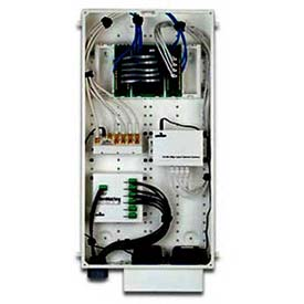 Leviton 47605-28n Structured Media Center Series 280 Enclosure Only, White - Min Qty 3
