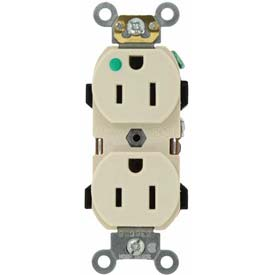 Leviton 8200-Ht 15a, 125v, Light Almond - Min Qty 12