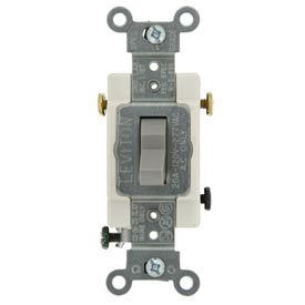 Leviton CS320-2GY 20A, 120/277V, 3-Way, Gray