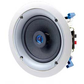 "Leviton Sgc65-00w 6.5"" Two-Way In-Ceiling Loudspeaker, White - Min Qty 2"