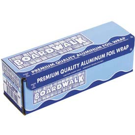 """Premium Quality Aluminum Foil Roll, 18"""" X 1000 Ft, 16 Micron Thickness, Silver, 1 roll"""