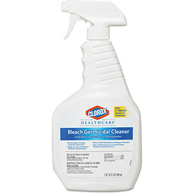 Clorox Bleach Germicidal Cleaner, 32 Oz. Trigger Bottle 6/Case - COX68970