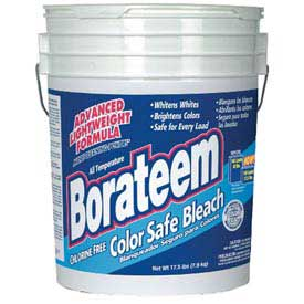 Borateem Color Safe Powder Bleach, 17.5 Lb. Pail DPR00145 by