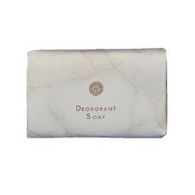 White Marble Individually Wrapped Deodorant Bar Soap,1.5 Oz. Bar 500/Case - DPR00194