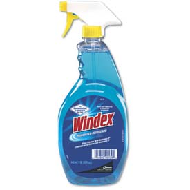 Windex Ammonia-D Glass Cleaner, 32 Oz. Trigger Bottle 12/Case - DRA90139CT