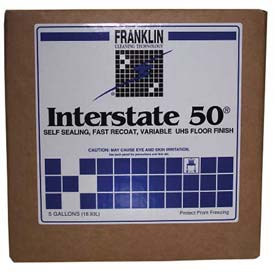 Franklin Cleaning Technology Interstate 50 Floor Finish, 5 Gal. Pail FKLF195025 by