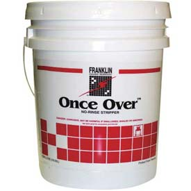 Once Over Floor Cleaner/Stripper Mint Scent, 5 Gallon Pail FKLF200026 by