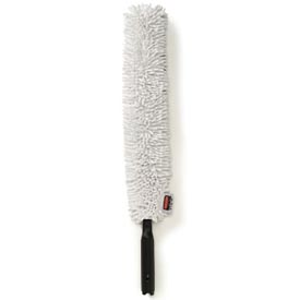 """Rubbermaid® HYGEN 28-3/8"""" Quick-Connect Flexible Dusting Wand - RCPQ852WHI - Pkg Qty 6"""