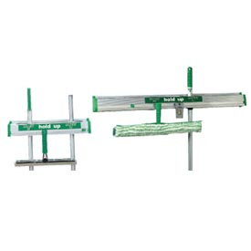 "Unger Hold Up Aluminum Tool Rack 36"", Green/Silver - UNGHU900"