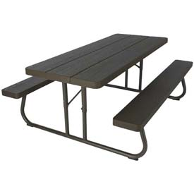 Nice Lifetime® 6 Foot Faux Wood Picnic Table