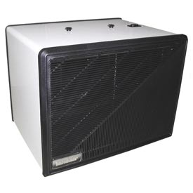 Portable Media Air Purifier - 275 CFM - 120V - White with Black Trim