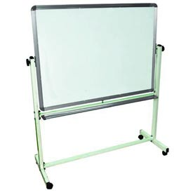 "Luxor® Mobile Reversible Magnetic Whiteboard - 36""W X 24""H"